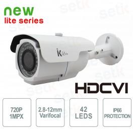 Telecamera Bullet HD-CVI 720P 2.8-12mm - Serie Lite - Setik