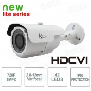 Caméra HDCVI 1Mpx 720P Bullet -... Setik BLCVI7202812IRW Caméras HD-CVI
