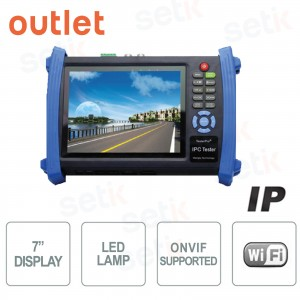 "Tester 7"" Touch Screen per telecamere IP ONVIF HDMI WIFI - Outlet"