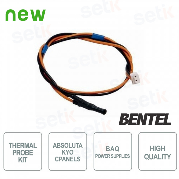 Temperature Probe Kit for Absoluta and Kyo control panels - Bentel