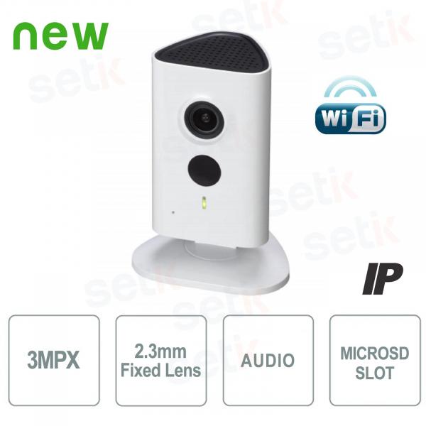 Telecamera IP da interno 3MP HD WiFi e IR LED - Serie C - Dahua
