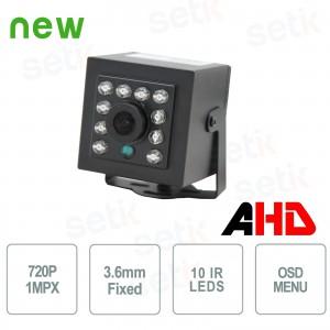 Telecamera Nascosta AHD 1.0... Setik HDAHD1MPX36IR ESPIONAGE
