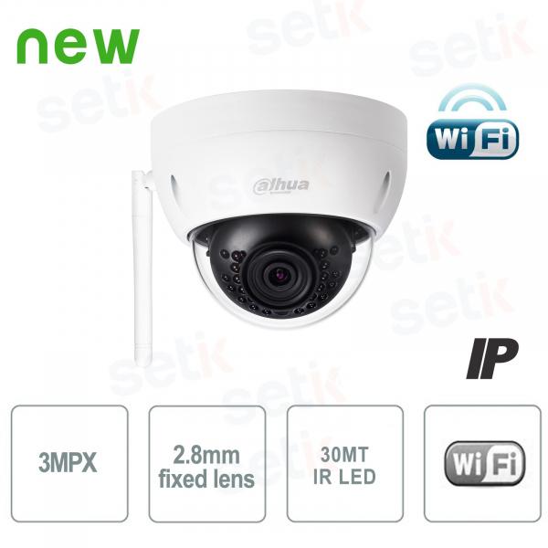 Telecamera Wireless Mini Dome IP 3MP 2.8mm - Dahua
