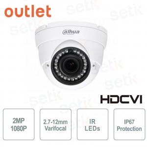 HDCVI Dome Camera 1080P 2.7-12mm... Dahua Technology HAC-HDW2220R-VF_USATO HD-CVI Cameras