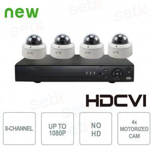 Video Surveillance KIT 8-Channel... Setik KIT-4-8-CVI-2MP-D HD-CVI