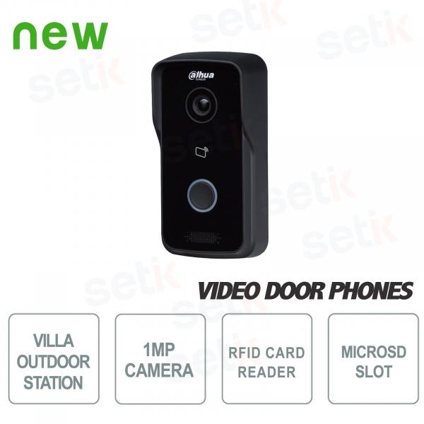 Postazione Esterna Wireless con telecamera 1MP e lettore RFID - Dahua