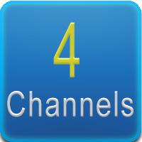 Questo DVR presenta 4 canali