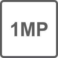 Risoluzione 720P 1Mpx