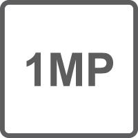 Risoluzione 1.0 Megapixel
