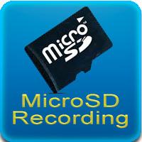 MicroSD Recording