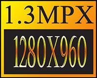 Risoluzione 1.3MPX (1280x960)