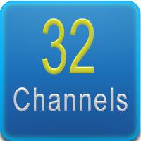 Questo DVR presenta 32 canali