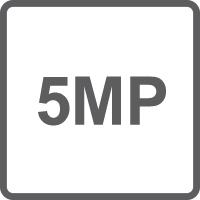 Risoluzione 5.0 Megapixel (2560x1920)