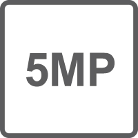 Risoluzione 5 Megapixel