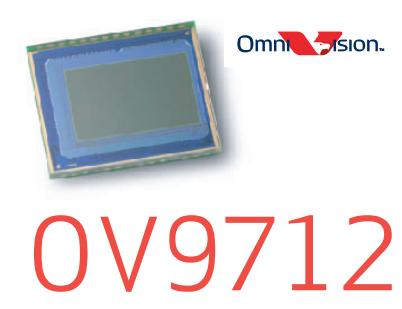Sensore d'immagine Omnivision OV9712