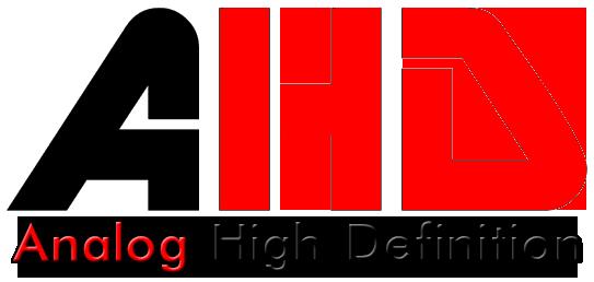 Logo della tecnologia AHD analogico Alta definizione