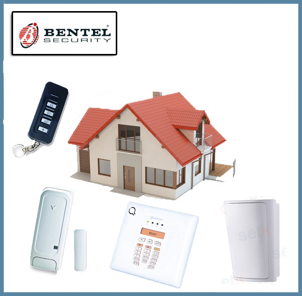 Kit Centrale Wireless Completo PIR 30 Zone - Antifurto ...