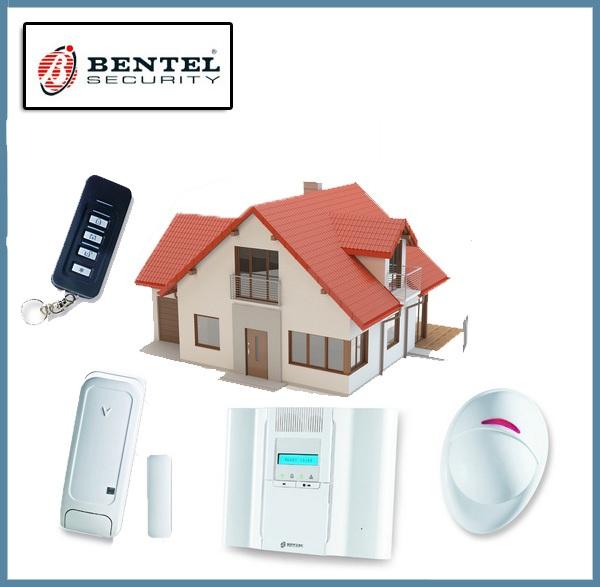 Kit Centrale Wireless Completo PIR 64 Zone - Antifurto Sicurezza - Bentel - BW64  eBay