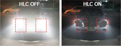 Immagine esempio funzione HLC High Light Compensation