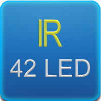 Illuminatore IR con 42 led