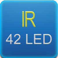 Illuminatore IR con 42 led