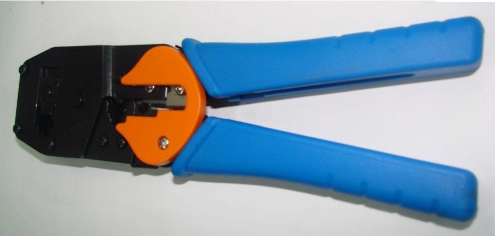 Pince sertir rj45 6 8 connecteurs multifonction for Fiche rj45 sans pince