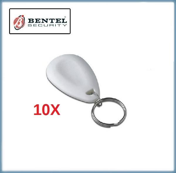 10x Tag di prossimità - Colore Bianco - Bentel