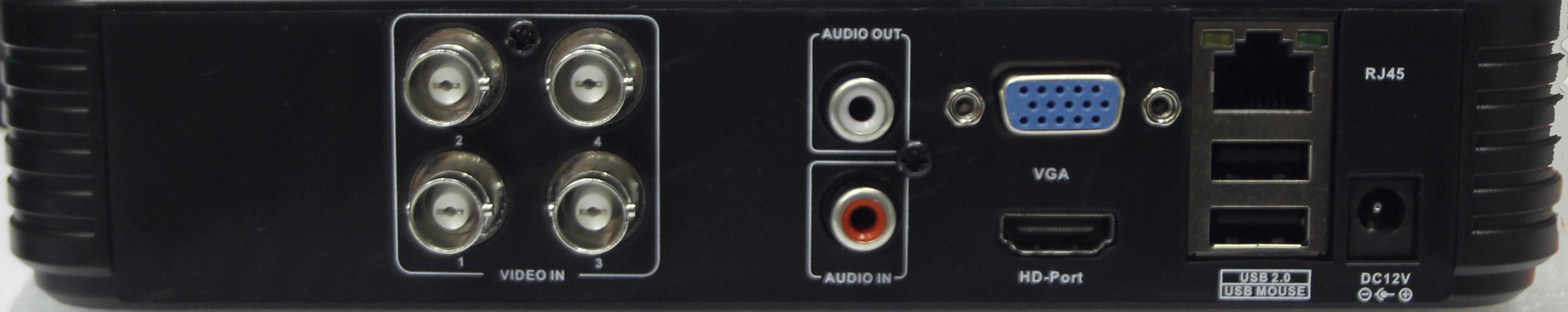 Dvr Ibrido 4 Canali 720P D1 Retro - SETIK