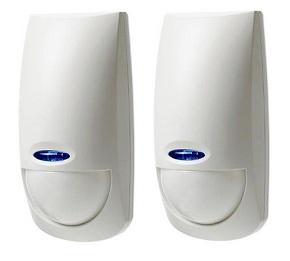 2x Sensori Bentel - doppia tecnologia - PET IMMUNE - 12MT