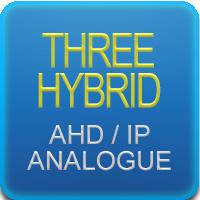 Tribrido tecnologia AHD IP ANALOGICO