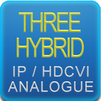 Tribrido HDCVI+IP+ANALOGICO
