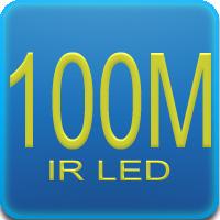 Illuminatore IR da 100mt