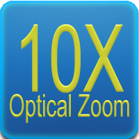 Zoom 10x - Ottica varifocale