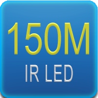 Illuminatore IR da 150mt