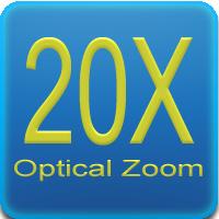 Zoom 20x - Ottica varifocale
