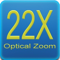 Zoom 22x - Ottica varifocale