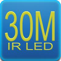 Illuminatore IR con portata massima di 30mt