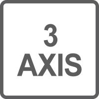 Movimento su 3 assi