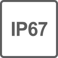 Protezione IP67 contro polveri e immersioni