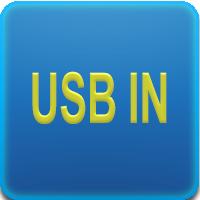 Porta USB IN