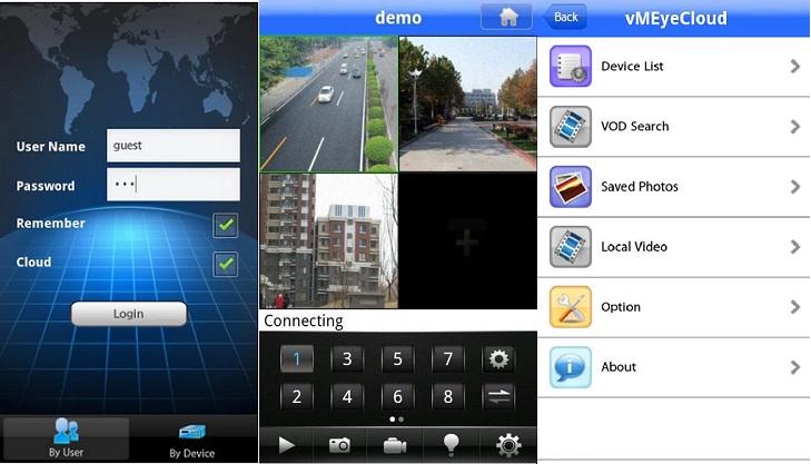 VMEYECLOUD - Applicazione per cloud su mobile