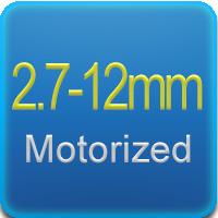 Ottica varifocale 2.7-12mm con zoom motorizzato