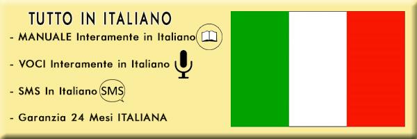 Manuale, Voci, SMS in Italiano