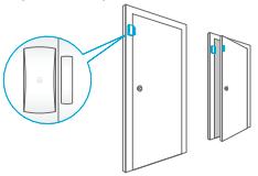 Montaggio Sensore Porta