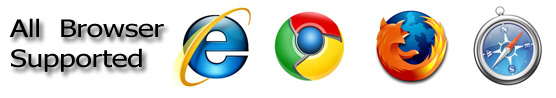 Firefox Mozilla, Google Chrome, Safari, Internet Explorer