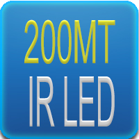 Illuminatore IR da 200mt