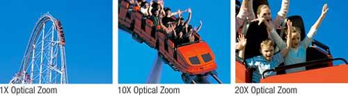 Zoom Ottico 20x esempio