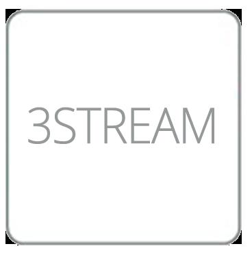 Triplo Stream, Triplo flusso dati