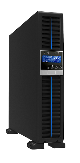 Gruppo di continuità UPS potenza 1000VA / 900W Display LCD Serie Rack Online