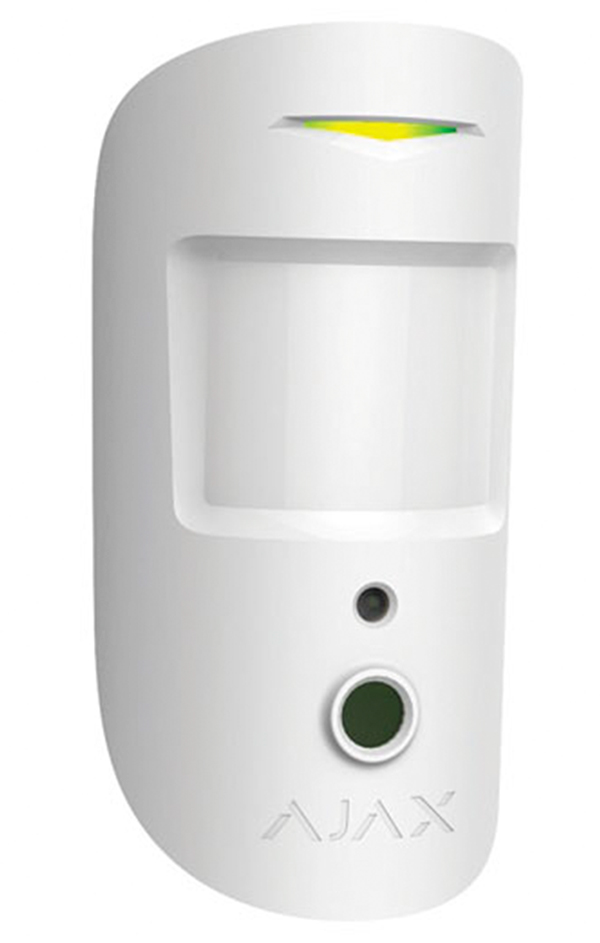 Rivelatore di movimento PIR con pet immunity e camera integrata